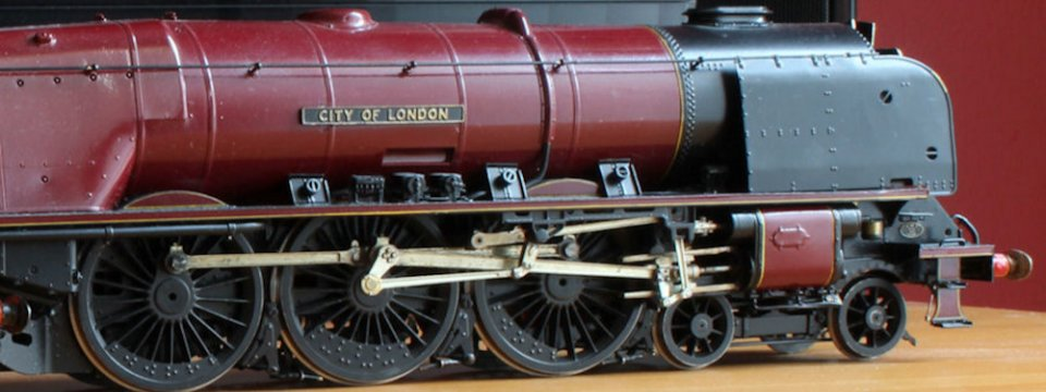 LMS Duchess loco Coronation Class 46245 'City of London' modelled by Cliff Williams